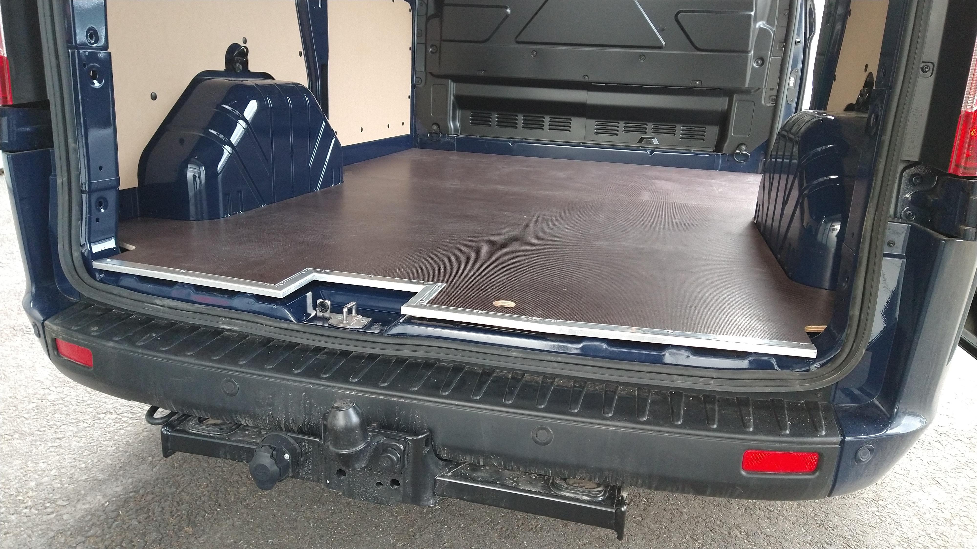 Fahrzeugboden Ford Transit Custom L2 / FWD & RWD / RD