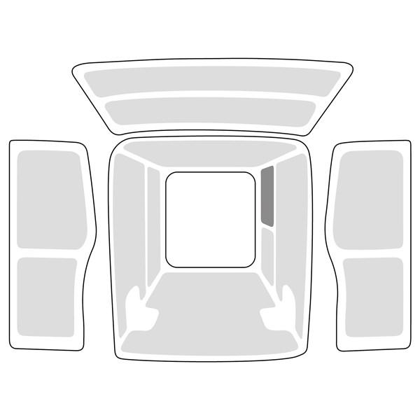 Innenverkleidung Set, Vollverkleidung, Ford Transit L3H2 / FWD / RD